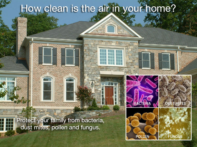 how to clean ducts in house