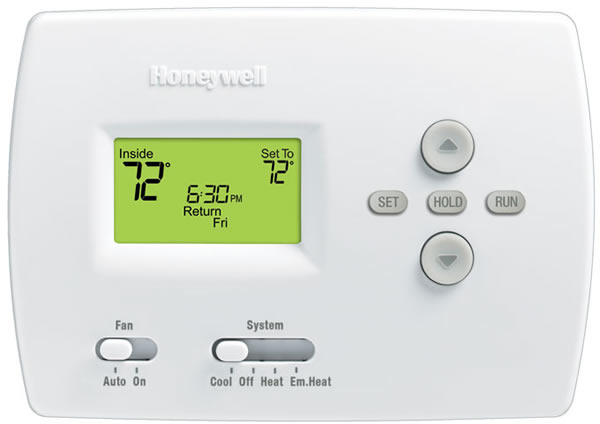 pro 4000 5 2 day programmable thermostat rh carefreeair com Honeywell Pro 4000 Manual English honeywell pro 4000 thermostat troubleshooting